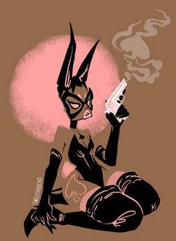 Bad Bunny Bond Babe - Pink