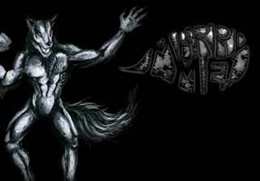 Char coal werewolf by FlukeLayer