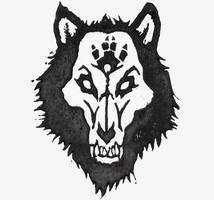 Wolf Print by FlukeLayer
