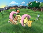 Fluttershy In the Pokemon World