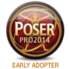 Poser Pro 2014 - Early Adopter by StoneSorceress