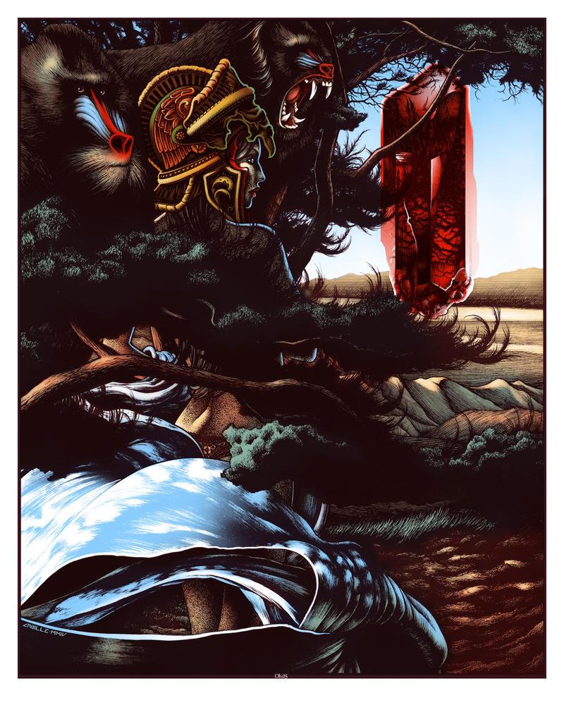 Obsidian #05 - Empress by AnvilleArt