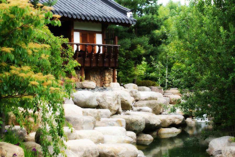 Korean Garden By Xileh