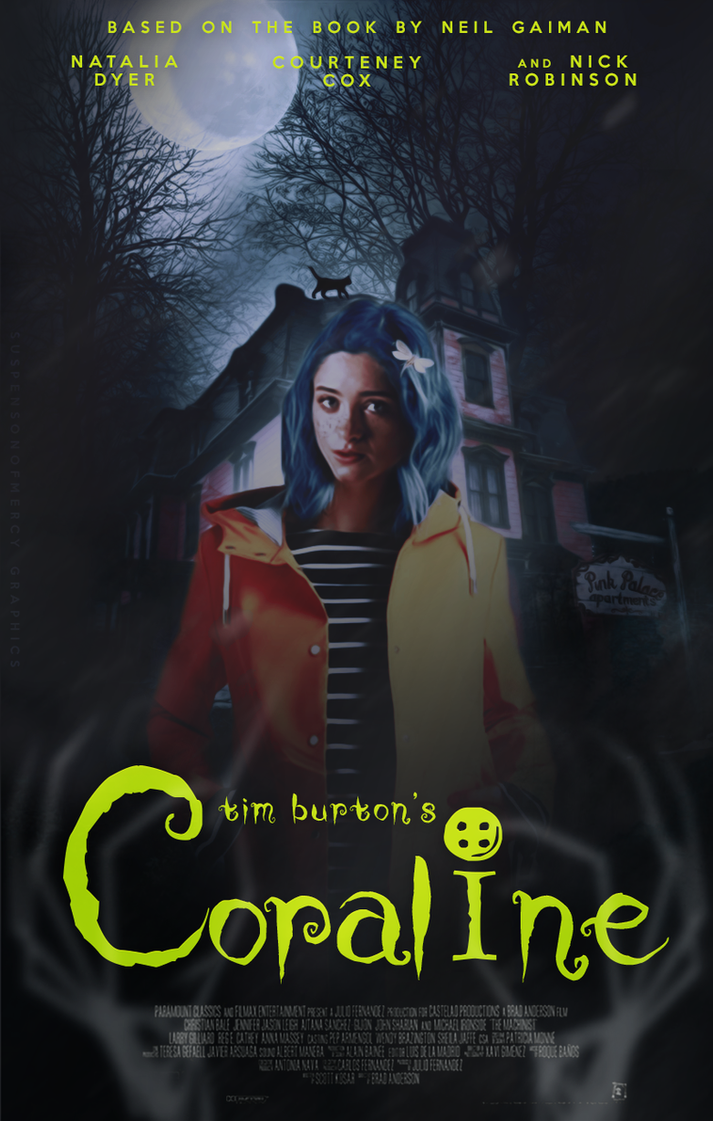 Coraline [The Road so Far Contest] by XmentaldiseaseX
