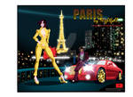 Paris By Nightfall : Adventures of Agent Mystique by GodsDemonsMen