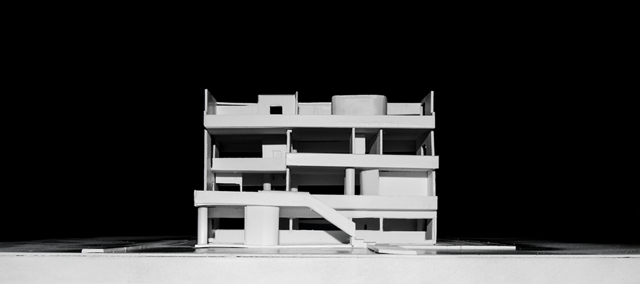 Villa stein le corbusier model by juanlukk on deviantart for Corbusier mobel