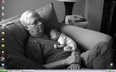 Daddy on my desktop by doppelgangergrl