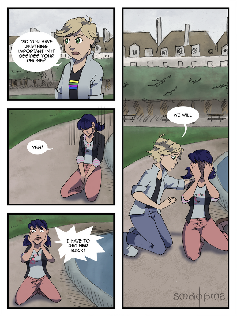 Miraculous Comic - Pg17 by doppelgangergrl