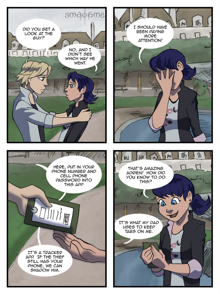 Miraculous Comic - Pg18 by doppelgangergrl