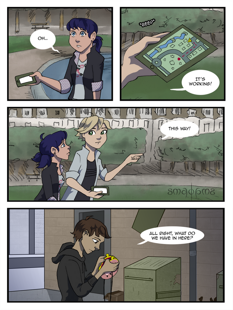 Miraculous Comic - Pg19 by doppelgangergrl