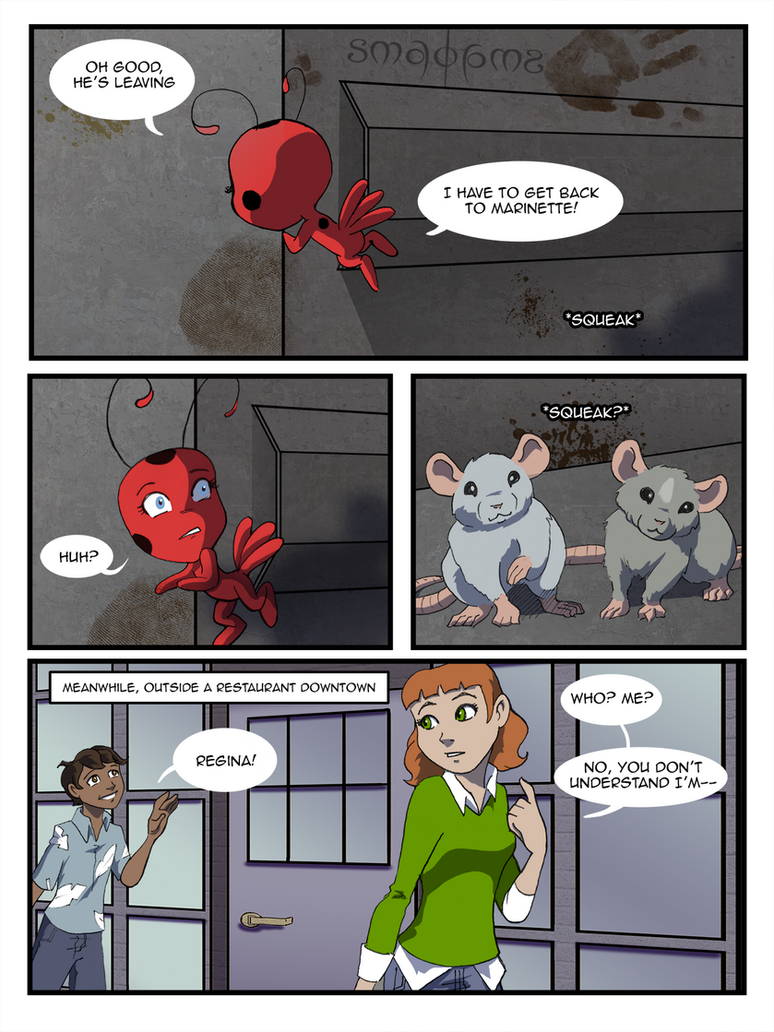 Miraculous Comic - Pg21 by doppelgangergrl