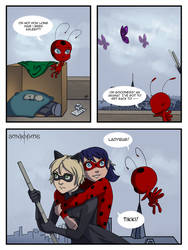 Miraculous Comic - Pg43 by doppelgangergrl
