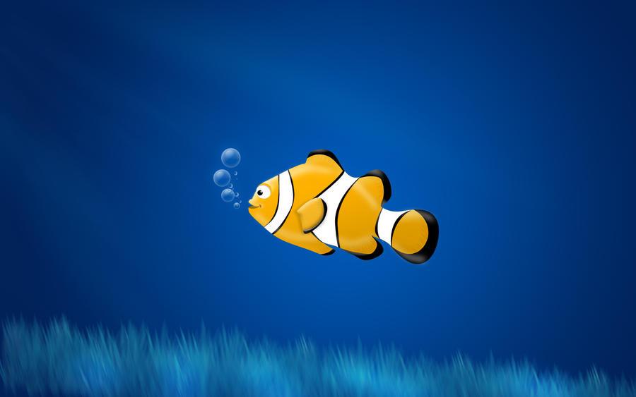 Crown Fish Wallpaper b...