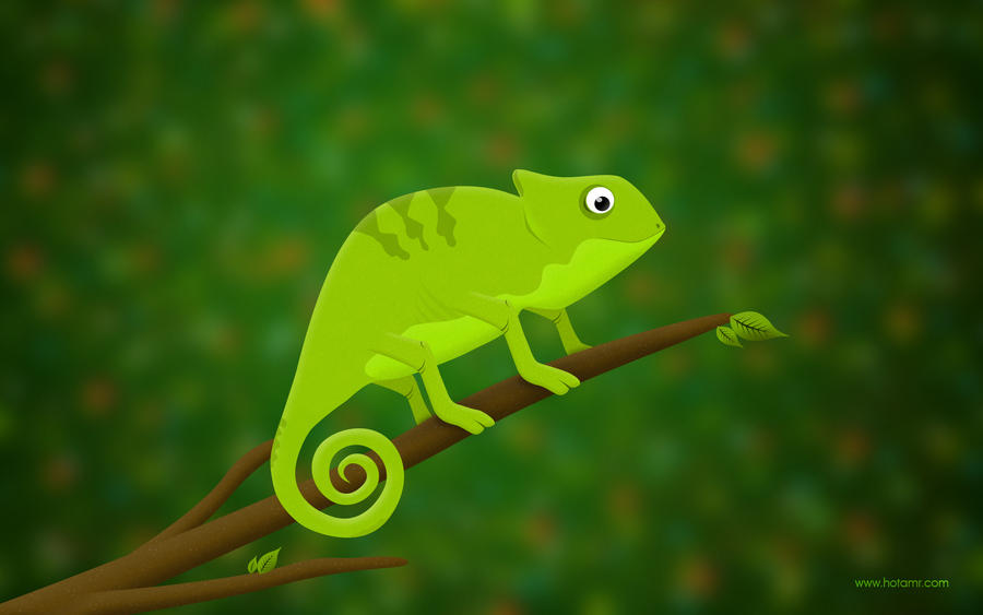 Chameleon by hotamr