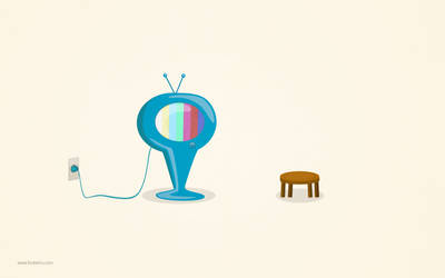 Lonely TV by hotamr