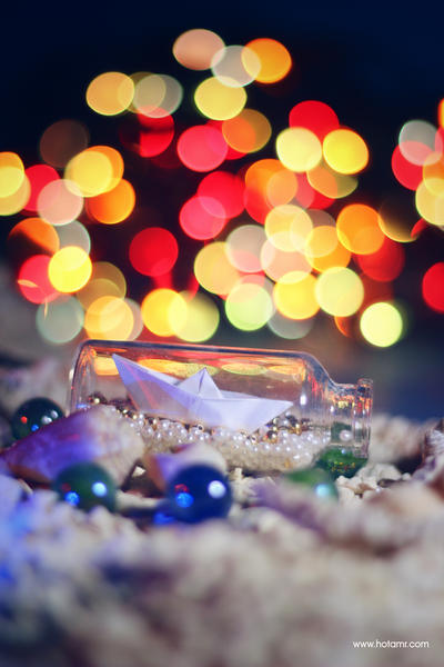 Magic Sea Lights by hotamr