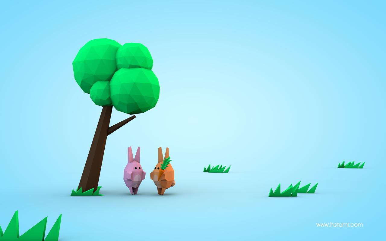 Sharing - rabbits