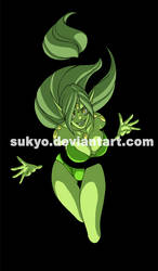 green demon by sukyo