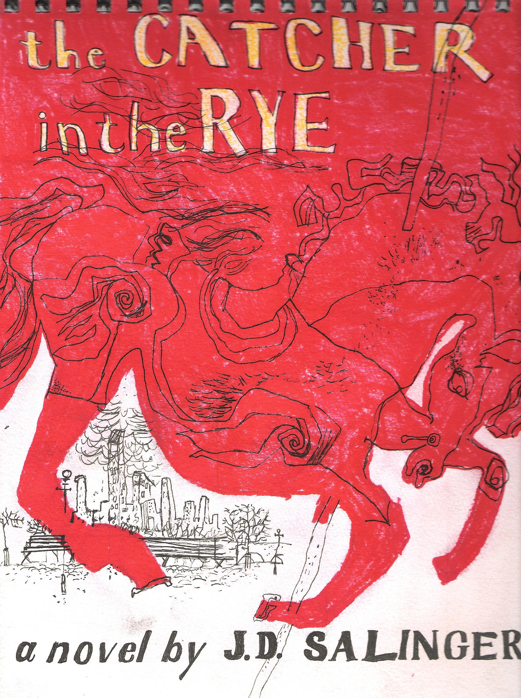 thesis on catcher in the rye