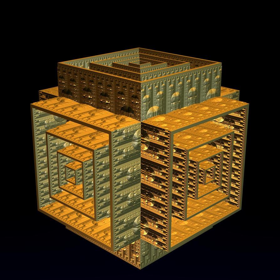 AAA Mandelbulb3D Infernal Box by CO99A5