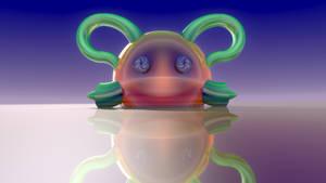 Loxodrom Button-Eyes 2