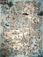 A Map Of Spore Island by Kallus