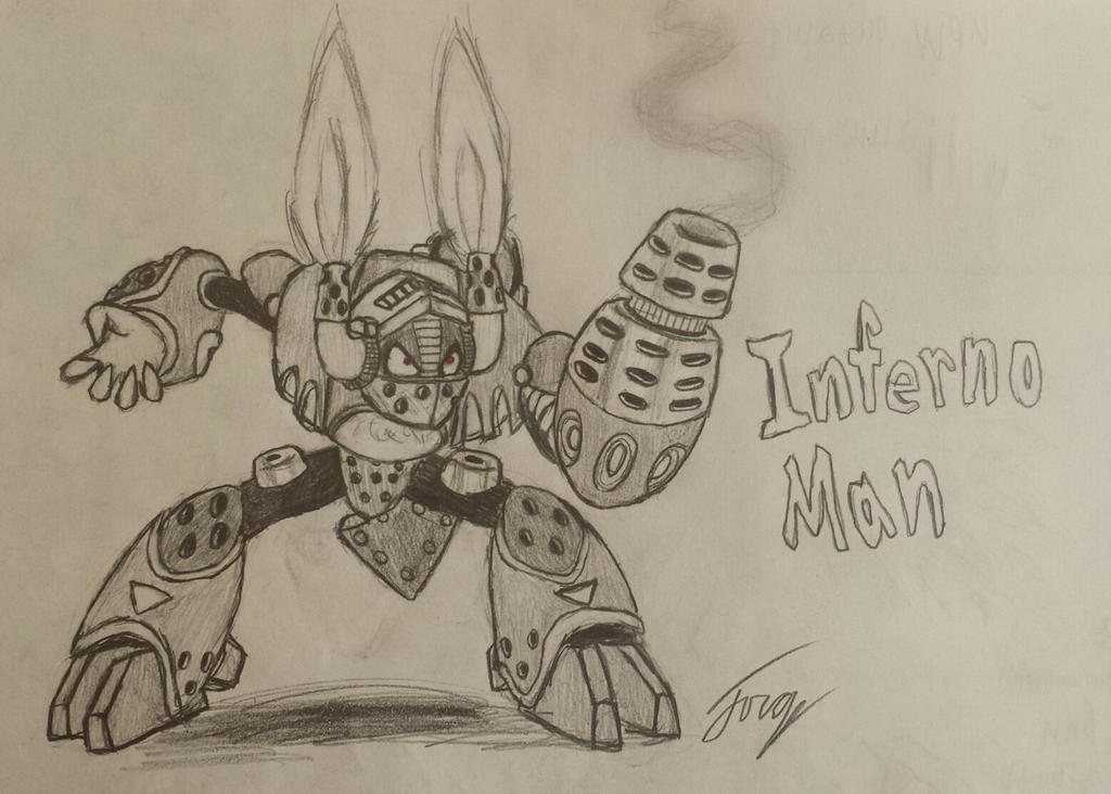 Robot Master OC: Inferno Man by Jo3-R6e