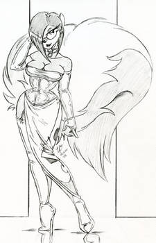 Tasha's ChaosCroc Uniform