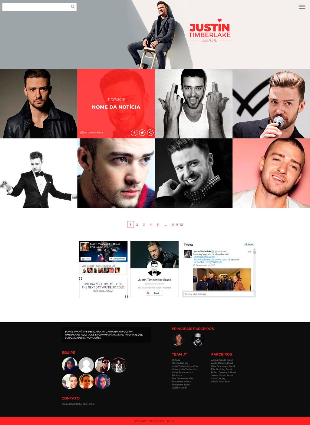 Justin Timberlake Brasil 2016 by helenamilena