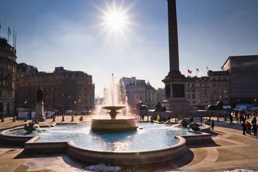 Trafalgar Square by n0M3n