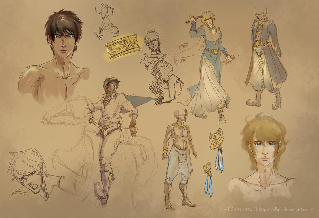 CaptivePrince sketches - SUPacat Novel by chiihun