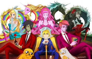 Adventure Time High Class by acetone91
