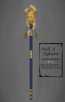Chronicles of Elyria: Staff of Rahune by HellmoonHV