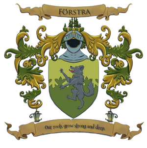 Personal Coat of Arms drawing by HellmoonHV