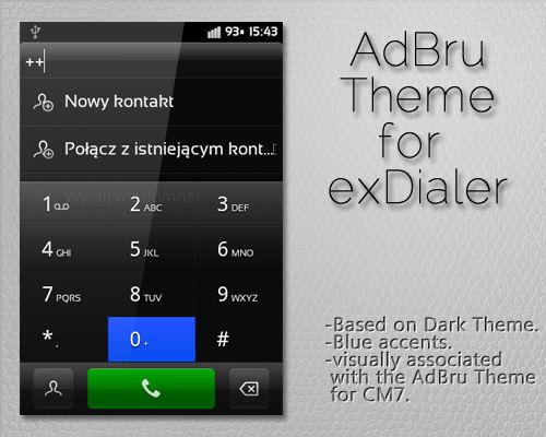 AdBru Theme for exDialer