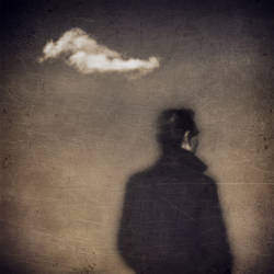 untitled (cloud man) by filmnoirphotos