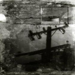 untitled (tank side shadow) by filmnoirphotos