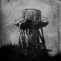 untitled (tank ladder) by filmnoirphotos