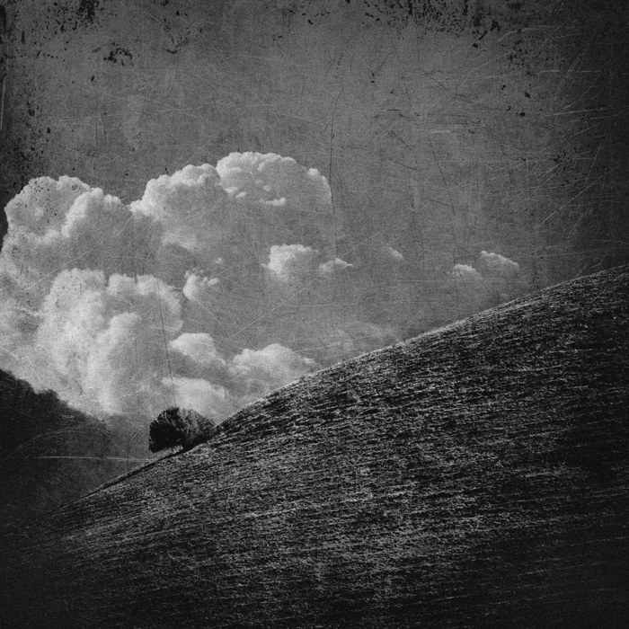 untitled (cloud, tree and hill) by filmnoirphotos