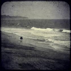 untitled (two on beach) Jim Ferreira