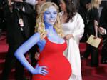 Scarlett Johansson pregnant Blueberry