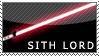 Sith Lord stamp