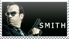Agent Smith stamp by Bourbons3