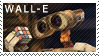 WALL-E stamp by Bourbons3