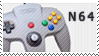 N64 stamp by Bourbons3