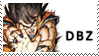 Dragon Ball Z stamp by Bourbons3