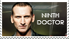 Ninth Doctor stamp by Bourbons3