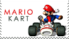 Mario Kart stamp by Bourbons3