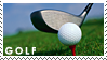 Golf stamp by Bourbons3