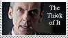 The Thick of It stamp by Bourbons3